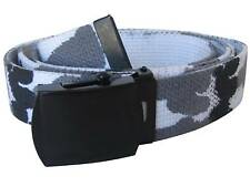 Mil-tec US Ceinture Pantalon coton - Armée militaire Web Belt Metro Camo