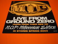 "M.O.P. LIVE FROM GROUND ZERO 12"" 2003  PROMO NEW"
