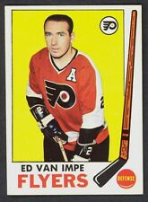 1969 70 TOPPS HOCKEY 92 ED VAN IMPE NM PHILADELPHIA FLYERS CARD