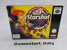 STARSHOT SPACE CIRCUS FEVER - NINTENDO 64 N64 - PAL VERSION - BOXED RARE
