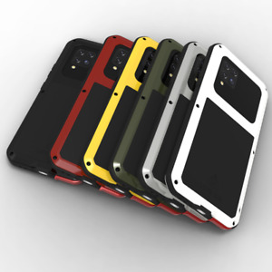 LOVE MEI Gorilla Glass Metal Silicone Outdoor Waterproof Case Cover for Samsung