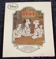 Disney 101 Dalmatians LE Limited Edition of 150 Pin Set Cruella De Ville NEW!