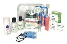16 items Travel Size Toiletries Set - Kit for Light Travel, Spa, Gym, Holiday