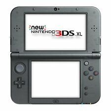 New Nintendo 3DS XL Console - Metallic Black + 2 games + Adapter