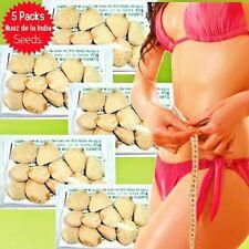 5 PACKS (60 ) Nuez de la India,original 100% weight loss,nut,indian seed