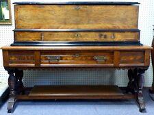 "Sublime Interchangeable Cylinder Harmonie Paillard 47"" Music Box & Stand. 1890"