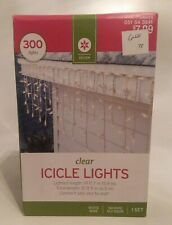 300 Count Clear Icicle Christmas Lights White Wire Wedding Events