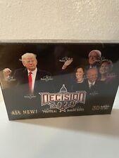 Decision 2020 Factory Sealed Card Political Trading Card Box Trump Biden Maga