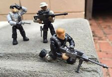 Call of Duty 06854 Mega Bloks Sniper Unit Collector Series FIGURE #1, 2, & 3