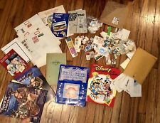 Vintage Stamp Collection Disney United States Patriotic Travel Mixed Lot
