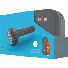 BRAUN SERIES 3 PROSKIN MODEL 3010TS BRAND NEW WITH GILLETTE GEL AND TRAVEL POUCH