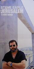 STEVE EARLE, JERUSALEM POSTER (K6)