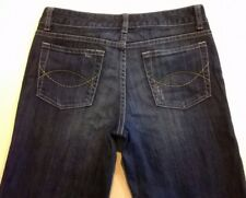 WOMENS JUST JEANS SIZE 10  BLUE STRETCH CROP JEANS  EX-COND