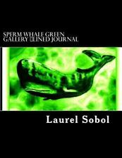 Nature Fine Art Lined Journals ~Soli Deo Gloria: Sperm Whale Green Gallery.