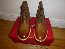 BNIB Grenson Sebastian Brogue Boots 110723 UK9.5 US10.5 Fred Equivalent