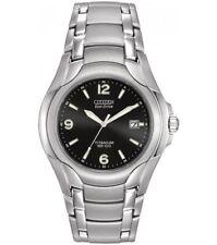 BM6060-57F Citizen 180 Black Dial Titanium Strap Watch