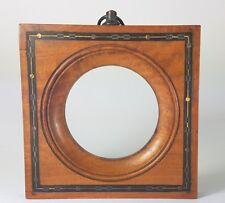 Biedermeier Holz- Rahmen mit Intarsien, Frankreich/ Schweiz, um 1850  AL383