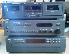NAD Classic C740 2 Channel 70 Watt Receiver,  5 Disc CD Player & Double Cassette
