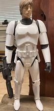 "Star Wars Luke Skywalker  31""  figure Jakks Pacific 2014 No Box See Pictures"