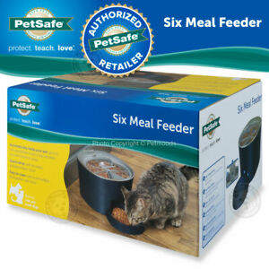 PetSafe 6 Meal Automatic Pet Feeder Cat Dog Programmable Clock New