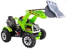 Elektro Kinderauto Elektrisch Kinderfahrzeug Elektroauto - Traktor, Bagger Grün
