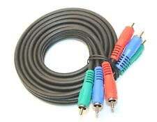 3-RCA Component Video RGB Cable for Asus Home HDTV Monitor Blu-Ray DVD Media Box
