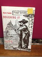 Mark Twain Roughing It By S.L. Clemens May 1962 Rinehart Editions PB