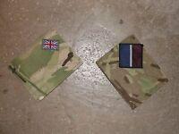 Paire d'écussons camouflage MTP Royal Air Force Armée Britannique RAF
