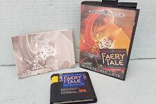 faery tale adventure gioco pal con manuale per console sega mega drive 16 bit