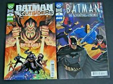 DC UNIVERSE BATMAN THE ADVENTURES CONTINUE # 3 & BATMAN AND THE OUTSIDERS # 16