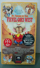An American Tail Fievel Goes West (VHS,1991) Never Opened