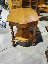 New listing Antique quartersawn Oak Carved Table