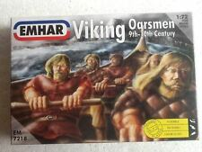 Emhar Viking Oarsmen 9th-10th Century 1:72 Scale Unpainted Poseable