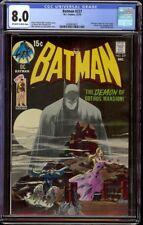 Batman # 227 CGC 8.0 OW/W (DC, 1970) Classic Neal Adams cover Detective 31 swipe
