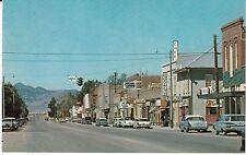 """Whitehall, Montana Street View"" Vintage Cars Postcard Montana *Free Us Ship"