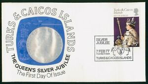 Mayfairstamps Turks and Caicos FDC 1977 Queens Silver Jubilee First Day Cover ww