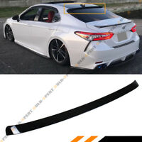 FOR 18-2020 TOYOTA CAMRY LE SE XSE XLE VIP GLOSSY BLACK REAR WINDOW ROOF SPOILER