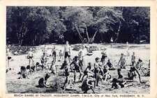 Huguenot New York Camps Beach Hames Talcott Antique Postcard K96299