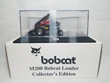 Bobcat M200 Chrome 40th Anniversary Loader Diecast 1:25 Scale Model Toy NIB