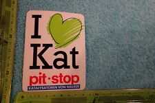 Alter Aufkleber Auto Katalysatoren von WALKER I like Kat PIT STOP
