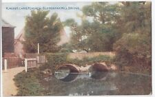 Dorset; Christchurch, Old Norman Mill Bridge PPC, Unposted, By Photochrom