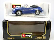 Bburago Burago 3051 Porsche 356 B Cabrio blau MIB Neu 1/18 OVP 1407-01-92