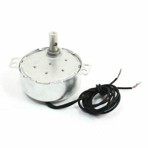 Ac 220v-240v 4w 5-6rpm ccw / cw motor eléctrico síncrono de reloj rotatorio
