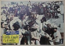 """""""LA CORRIDA DE LA PEUR (BRAVE BULLS)"""" Affiche ent.  Mel FERRER, Anthony QUINN"""