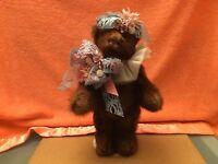 Vintage BEEMUR BEAR,Mink Teddy Bear by Heather Lori Castillo !!!