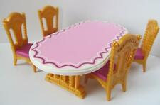 Playmobil Victorian Dollshouse/Wedding/Palace furniture: Table & chairs NEW