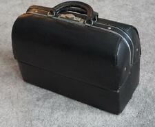 Vintage Schell Emdee Doctor Bag Beaver Grain Model 58425 Black