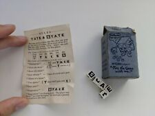 More details for tate and state vintage dice game