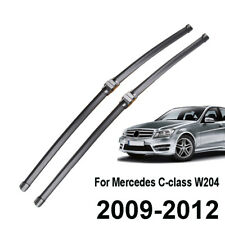 Front Window Windshield Wiper Blades Fit For Mercedes Benz C Class W204 09-12