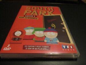"COFFRET 3 DVD NEUF ""SOUTH PARK, SAISON 9"""